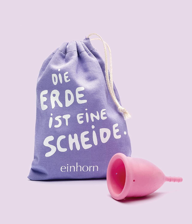 Papperlacup Einhorn Menstruationstasse